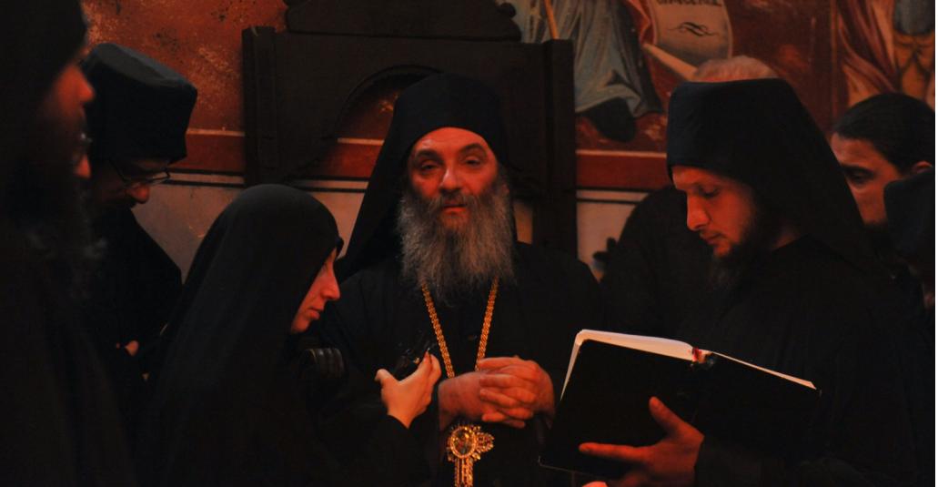 ВО ЧЕСТ И СПОМЕН НА СЛАВНИОТ ХРИСТОВ МАЧЕНИК, СВЕТИ ГЕОРГИЈ ПОБЕДОНОСЕЦ  (Бигорски манастир)