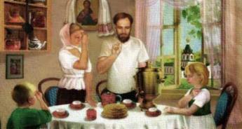 А ТАА ТРПЕЗАТА е Олтарот на домот! (молитви пред секој оброк)